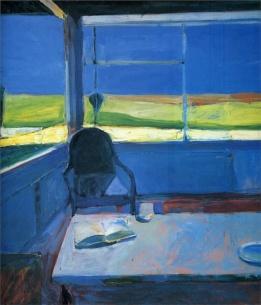 Richard-Diebenkorn-painting-interior-w-book